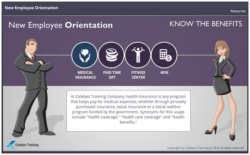 new employee training programs New employees who attended a well-structured onboarding orientation program, were 69 percent more likely to remain at a company up to three years losing an employee due to their experiences of being confused, feeling alienated, or lacking confidence is a sign of poor onboard programming ( source .